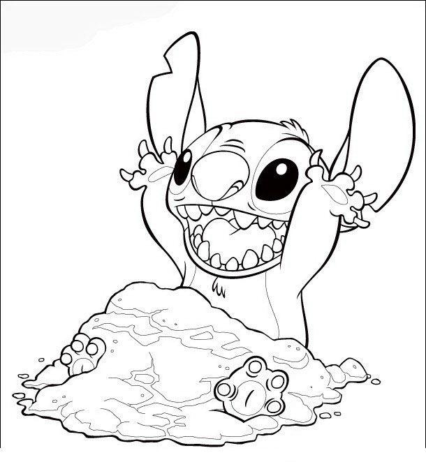 lilo og stitch tegninger til farvel u00e6gning 44