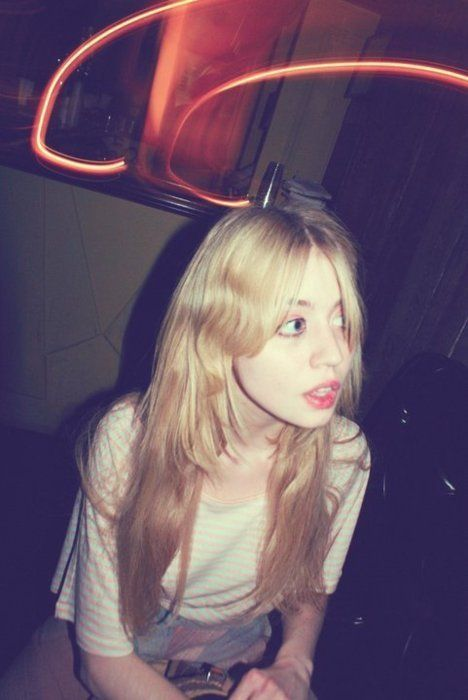 Allison Harvard. I want her eyes!