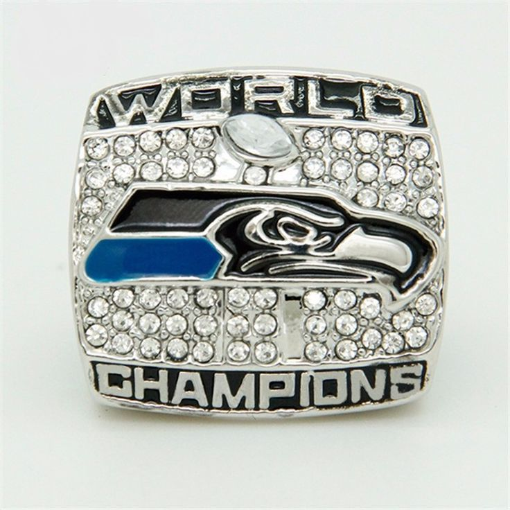 CR-20545 2013 Seattle Sea Hawks Championship Ring WILSON For Men Ring 1 Piece Custom,  Best Men's Gifts