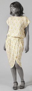 Curvy Drape Dress - FREE SEWING PATTERN