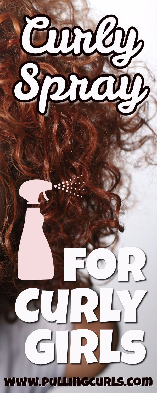 curly hair | spray | water | curls | beach spray