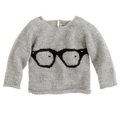 baby glasses sweater