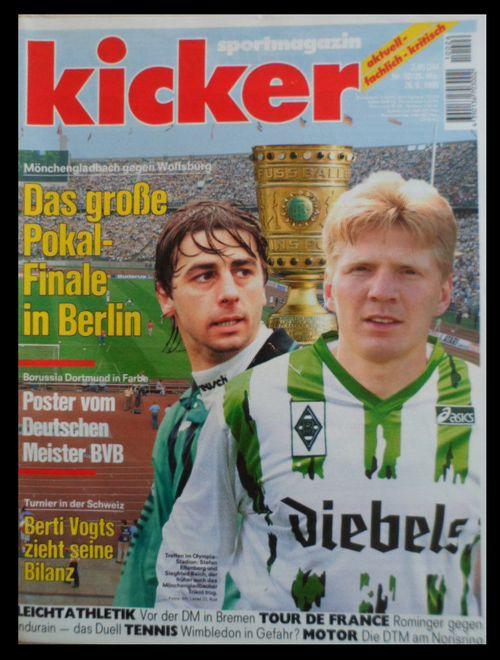 Popular Effenberg Das gro e Pokal Finale in Berlin Borussia M nchengladbach VS Wolfsburg Kicker