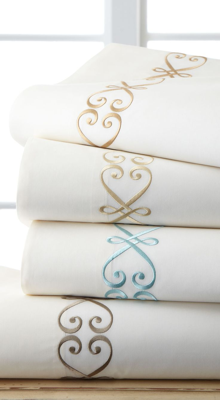 This is Fino Lino Linen and Lace Bedding Collection - However INSPIRATA will also have its own collection of exquisitely embroidered fine linens