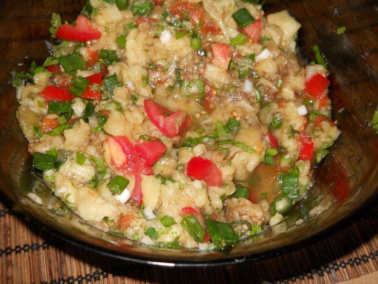 Salata de vinete arabeasca