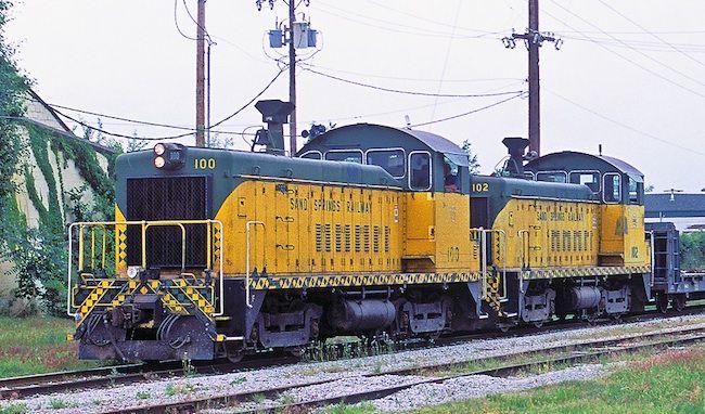 Sand Springs Railway 100 EMD SW900 20891 2/56