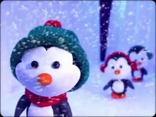 Vidéo Animation Noël - La Danse des pingouins! - (Vive le vent)