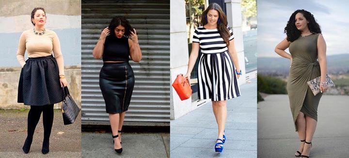 Increíble moda para mujeres con curvas