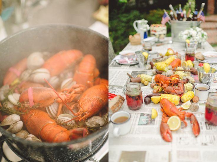 Rock Lobster Feast by Tiffani Thiessen • Photos by  Rebecca Sanabria
