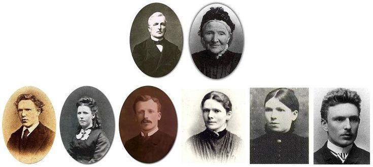 pinturas imágenes de su vida familiar
