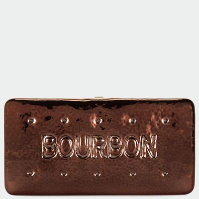 Anya Hindmarch Autumn Winter 2014, Bourbon clutch