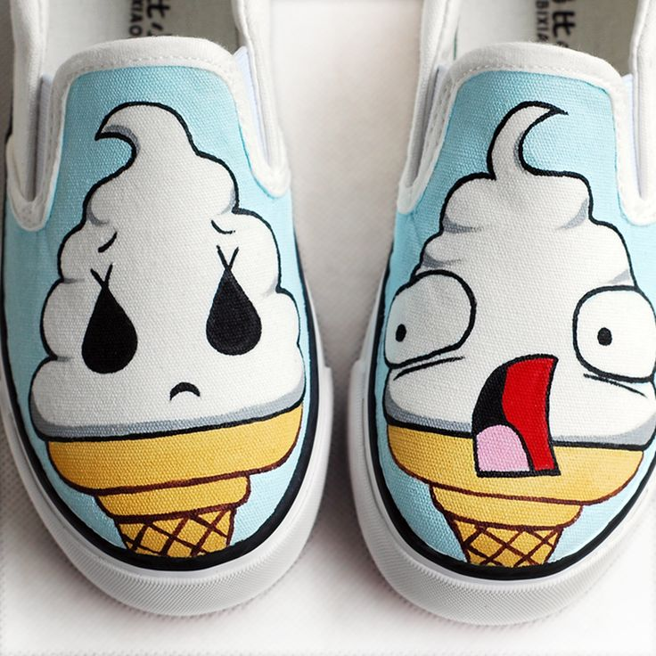 Child canvas shoes male shoes baby girls hand-painted shoes cow muscle shoes outsole canvas strapless wrapping foot pedal $1007,21