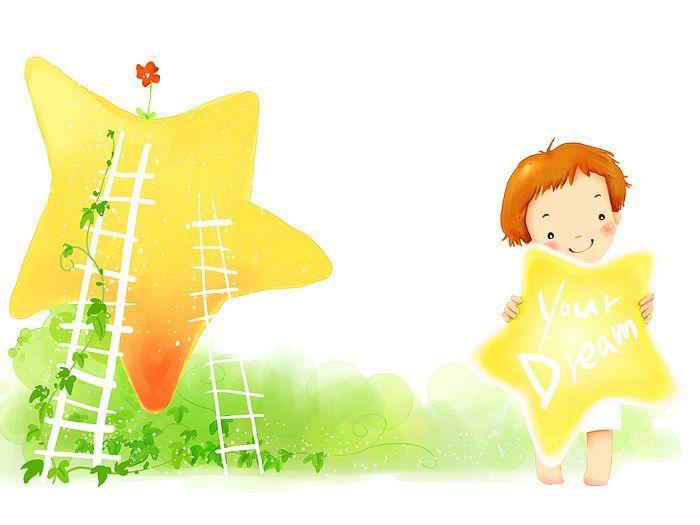 Kim Jong Bok Illustrations(Vol.05) : Sweet Childhood Lovely Girl    - Sweet Little Girl Cartoon Illustration 1920*1600  15