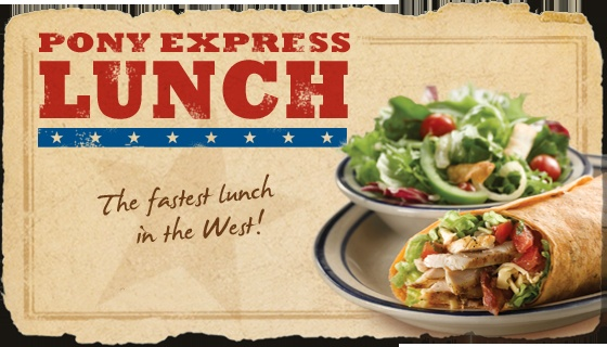 Pony Express Lunch