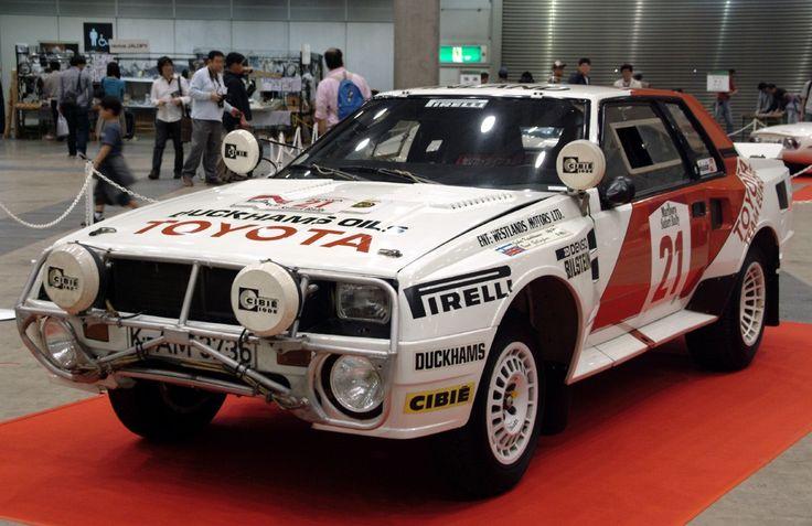 Toyota Celica TA64 Twin Cam Turbo 1983