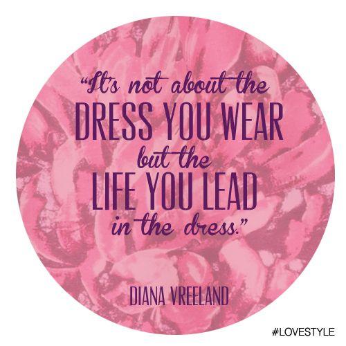 "Manic Monday: ""Dress"" by Diana Vreeland #LoveStyle"
