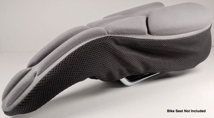 Komfy High Performance Bike Seat Cover (Narrow) – Gray