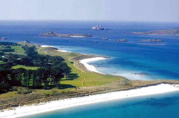 The Isles of Scilly, off the coast of Cornwall, England