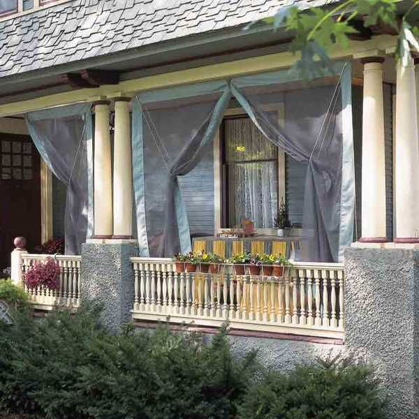 17 Great Small Porch Design Ideas: 17 Best Images About Out Door Curtains.. On Pinterest