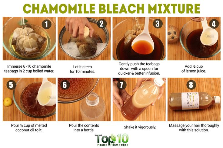 chamomile bleah mixture