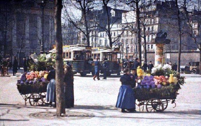 O encantamento da França há 100 anos atrás