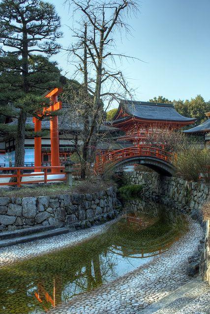 Kyoto - Shimogamo Jinja by meenaghd on Flickr.