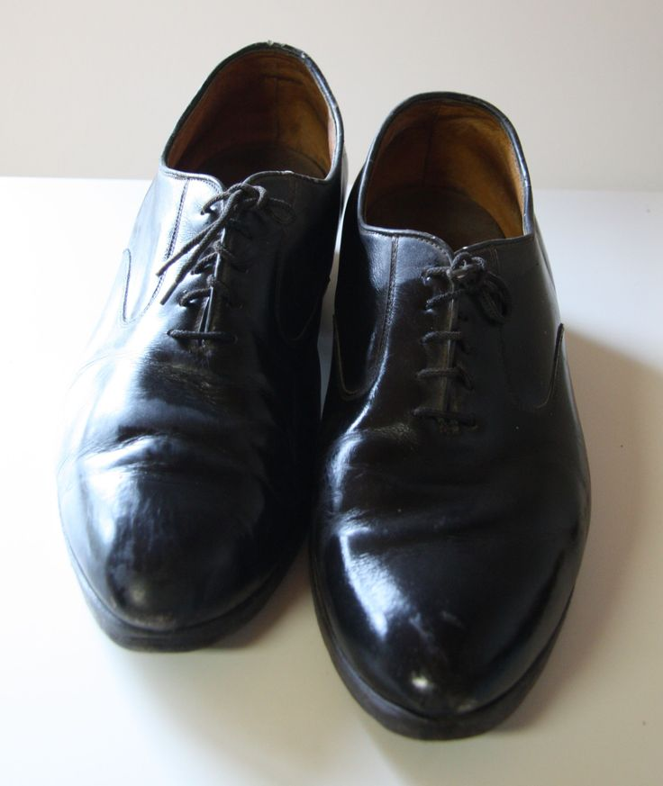 #classic #vintage #leather #shoes for #gentlemen from #30s by #salonmody