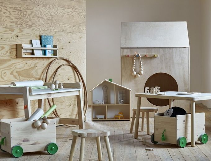 {Design} Ikea Flisat: design scandinavo per bambini