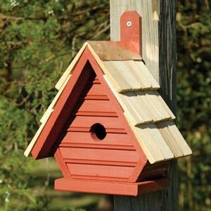 contemporary birdhouses