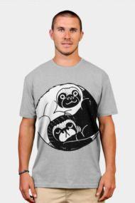 The Tao of Sloths Mens T Shirts