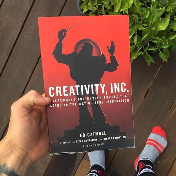 SuccessSaturdays  Creativity Inc. by Ed Catmull  Need some inspiration? Welcome to your user manual for originality! For the first time Pixar co-founder Ed Catcall pulls back the curtain to where creativity was born.  Here's my 3 favorite book quotes:  If you give a good idea to a mediocre team they will screw it up. If you give a mediocre idea to a brilliant team they will either fix it or throw it away and come up with something better.   Dont wait for things to be perfect before you share…