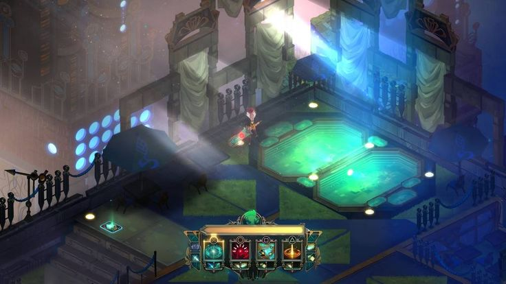 transistor game screenshots - Google Search