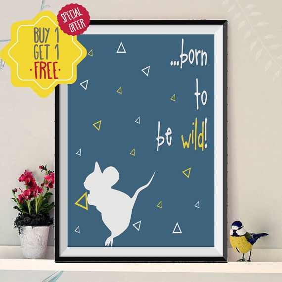 Born to be wild, Nursery wall art, Children room, Wild one, Gift for kids, Newborn boy, Kids printables, Quote prints, INSTANT DOWNLOAD.Art.   This listing is for an INSTANT DOWNLOAD of 2 JPEG files of this artwork. Just purchase the listing and your print is ready to download instantly. Why not print one for a friend, or just for fun?  Once you purchase the poster you will receive the following files:  - 1 JPEG high resolution (300 dpi) file with trim marks 8x10 inches. - 1 JPEG high…