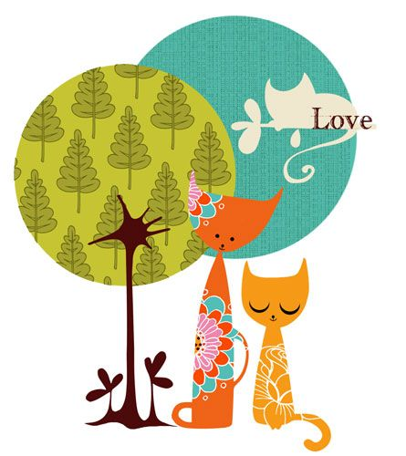 Jo Taylor Designs: Love Cats