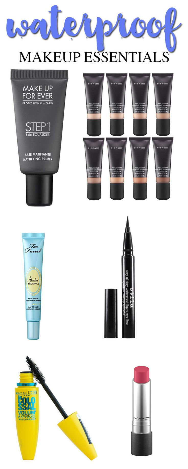 Waterproof Makeup Essentials #deals #ad