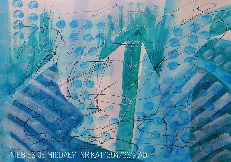 Malarstwo Wandy Murat   Wym : 50x70cm. Akryl na kartonie  Tytuł i nr.katalogu na dole obrazu......