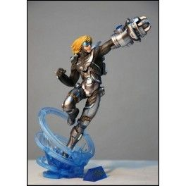 Figurine All Stars League Of Legends- The Futur Soldier Warrior