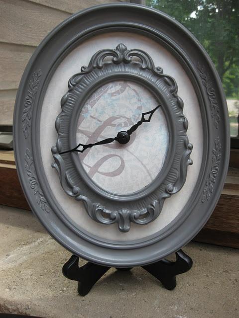 #DiY #Clock from #Frame