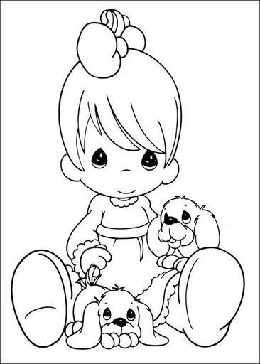 Dibujos infantiles de precious