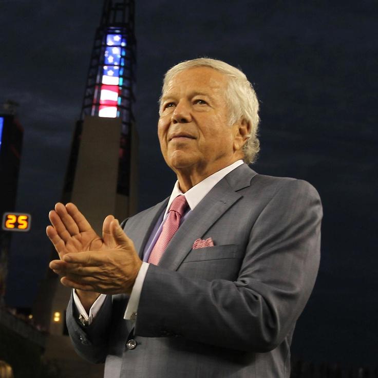 Robert Kraft, owner New England Patriots