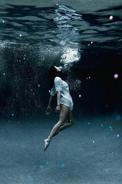 #water #sea #wallpaper #girl #darkblue