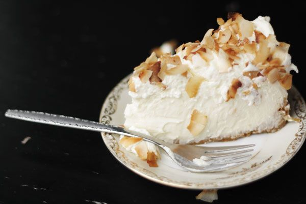 Triple Coconut Cheesecake #cheesecake #coconut