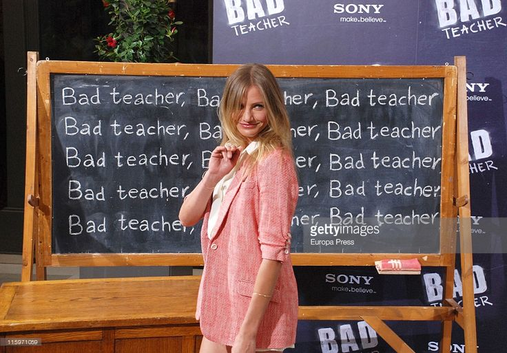 Actress Cameron Diaz attends 'Bad Teacher' photocall on June 13, 2011 in Madrid, Spain.