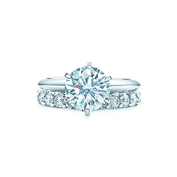 Solitaire Tiffany Bands: 17 Best Ideas About Tiffany Setting Engagement On