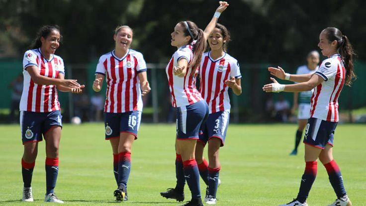 Chivas Femenil le metió seis goles a Santos - Medio Tiempo.com