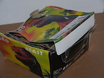 vtg 1980's Gro Beast Growing Dinosaur Novelty Toys NOS Store Counter Display
