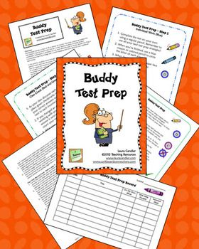 FREE Buddy Test Prep Activity makes test prep fun! Complete step-by-step directions included. This freebie has been downloaded from TpT over 74,000 times!