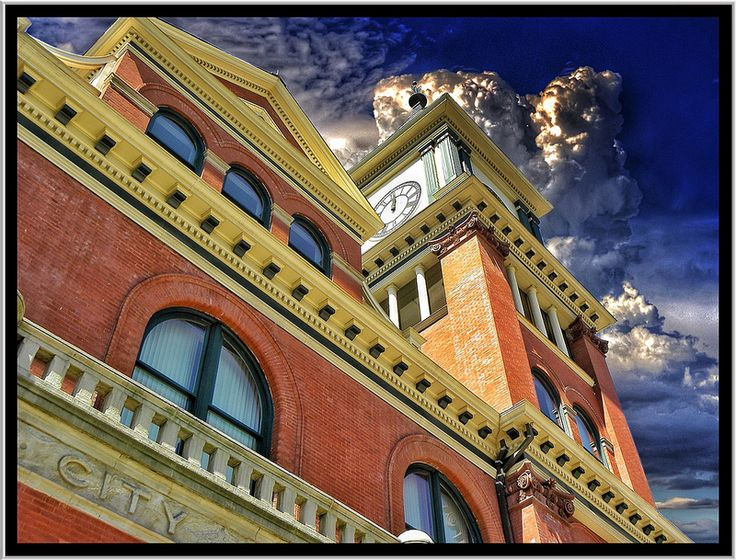 Bradford  PA  ~ Bradford Old City Hall ~ Historical