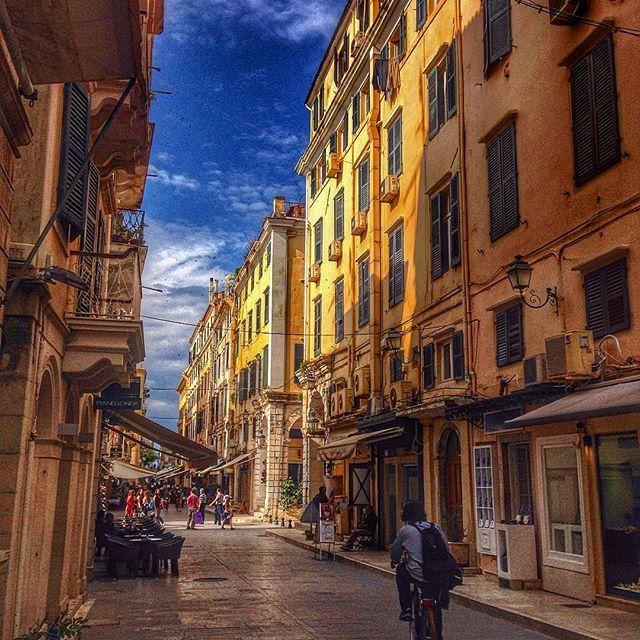 Colorful #Corfu! #OldTown Photo credits: @chris_chiosgr