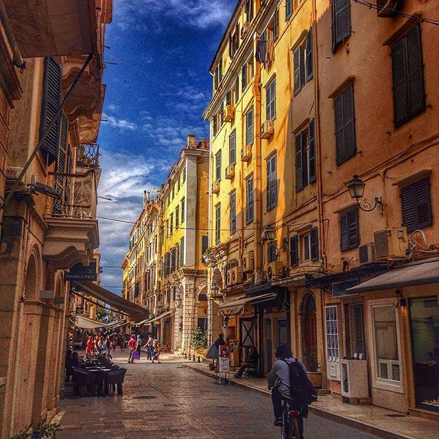 Colorful #Corfu! #OldTown Photo credits: @chris_chiosgr